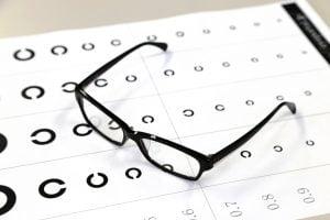 ランドルト環と眼鏡